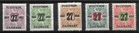 Danmark  - 27 øre/5 div - Postfrisk