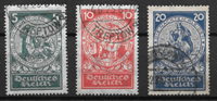 German Empire  - AFA 351-353 - Cancelled