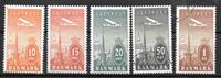 Danmark  - AFA 216-220 - stp. /ust
