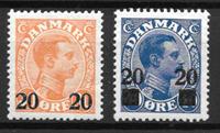 Danmark  - AFA 152-153 - Postfrisk