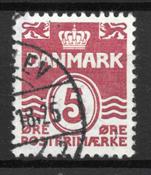 Danmark  - AFA 246y - Stemplet