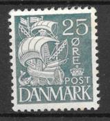 Danmark  - AFA 205 - Ustemplet