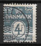 Danmark  - AFA 45av - Stemplet