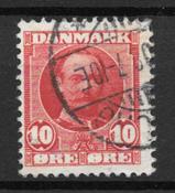 Danmark  - AFA 55t - Stemplet