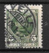 Danmark  - AFA 54t - Stemplet