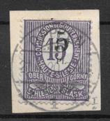 General Gouverment 1920 - AFA 10a - Leimattu