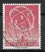 Berlin 1950 - AFA 71 - Stemplet