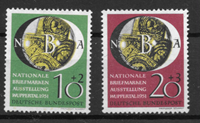Allemagne 1951 - AFA 1104-1105 - Neuf