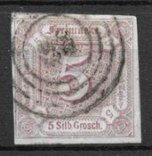 Thurn & Taxis 1859 - AFA 18 - Oblitéré