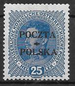 Polen 1900 - AFA 25 - Ustemplet