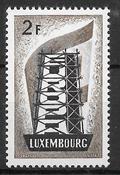 Luxemburg 1956 - AFA 551 - Ustemplet