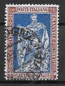 Italia 1928 - AFA 233a - Leimattu