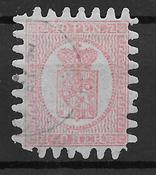 Finland 1886 - AFA 9C - Ustemplet