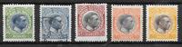 D.V.I. 1915 - AFA 47-51 - Stemplet/ust