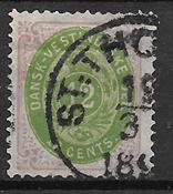 Danish Vest Indies 1876 - AFA 12 - Cancelled