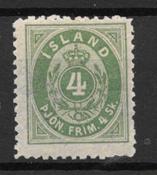 Islande 1873 - Tj 1 B - Neuf