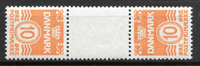 Danmark 1920 - Tete-Beche 4 - Postfrisk