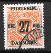 Danmark 1918 - AFA 92 - Stemplet
