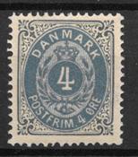 Danmark 1875 - AFA 23 - Postfrisk