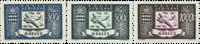 Monaco - Luftpost - AFA 395-97 postfrisk