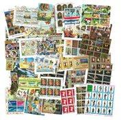 Worldwide - 100 different souvenir sheets