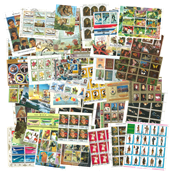 Worldwide - 100 different souvenir sheets