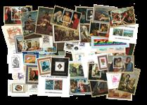 Rwanda - Frimærkepakke 42 forskellige postfriske takkede miniark