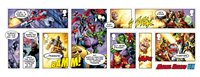 Great Britain - Marvel Superheroes - Mint Souvenir Sheet