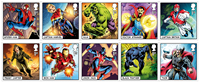 Great Britain - Marvel Superheros - Mint set 10v