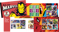 Great Britain - Marvel Superheroes - Mint Prestige Booklet