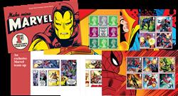 Grande-Bretagne - Marvel Super-héros - Carnet de prestige neuf