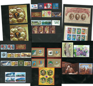 Russia - 2018 first half year with standing order - 30 stamps, 13 s/s