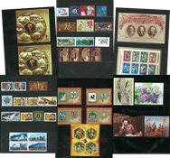 Russia - 2018 first half year without standing order - 30 stamps, 13 souvenir sheets