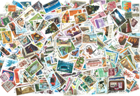 Worldwide  - 1000 different stamps
