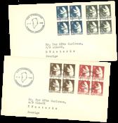 Grønland - FDC med isbjørn AFA 58-61 1963 på 4-blok