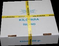 Island - Postforseglet kilovare fra år 2002