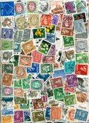 Norvège - Paquet de timbres - 1200 timbres obl. diff.