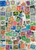 Norja - 1200 erilaista leimattua postimerkkiä