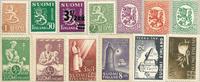 Finlande - Paquet de timbres - 13 timbres neufs différents
