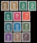 Empire Allemand 1927 - Michel 385-397 - Neuf