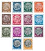 Tyske Rige 1933 - Michel 482-495 - Postfrisk