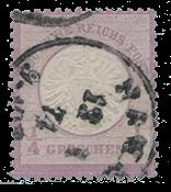 Empire Allemand 1872 -  Michel 16 - oblitéré