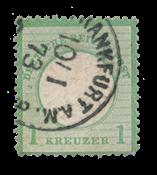 Tyske Rige 1872 -  Michel 23a - Stemplet