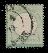 Empire Allemand 1872 - Michel 17b - oblitéré