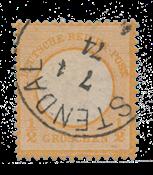 Empire Allemand 1872 -  Michel 18 - oblitéré