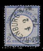 Empire Allemand 1872 - Michel 20 - oblitéré