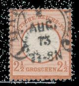 Empire Allemand 1872 - Michel 21 - oblitéré