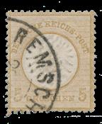 Empire Allemand 1872 -  Michel 22 - oblitéré