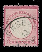 Empire Allemand 1872 -  Michel 25 - oblitéré