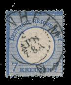 Empire Allemand 1872 -  Michel 26 - oblitéré
